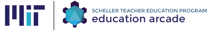 Image and link to the MIT Scheller Teacher Education Program/Education Arcade. Click to go to the lab's homepage.